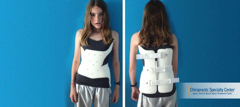 Boston scoliosis brace