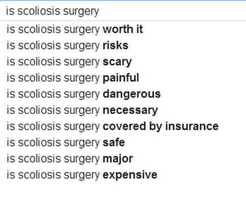 What Are Some of the Risks Associated with Scoliosis Surgery